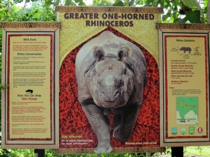 Informações sobre os animais e seus habitats....