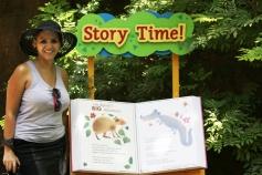 Interação para as crianças conhecerem os animais e histórias sobre cada espécie....