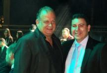 Secretário de Turismo de Ilhabela - Ricardo Fazzini e Prefeito de Ilhabela - Márcio Tenório